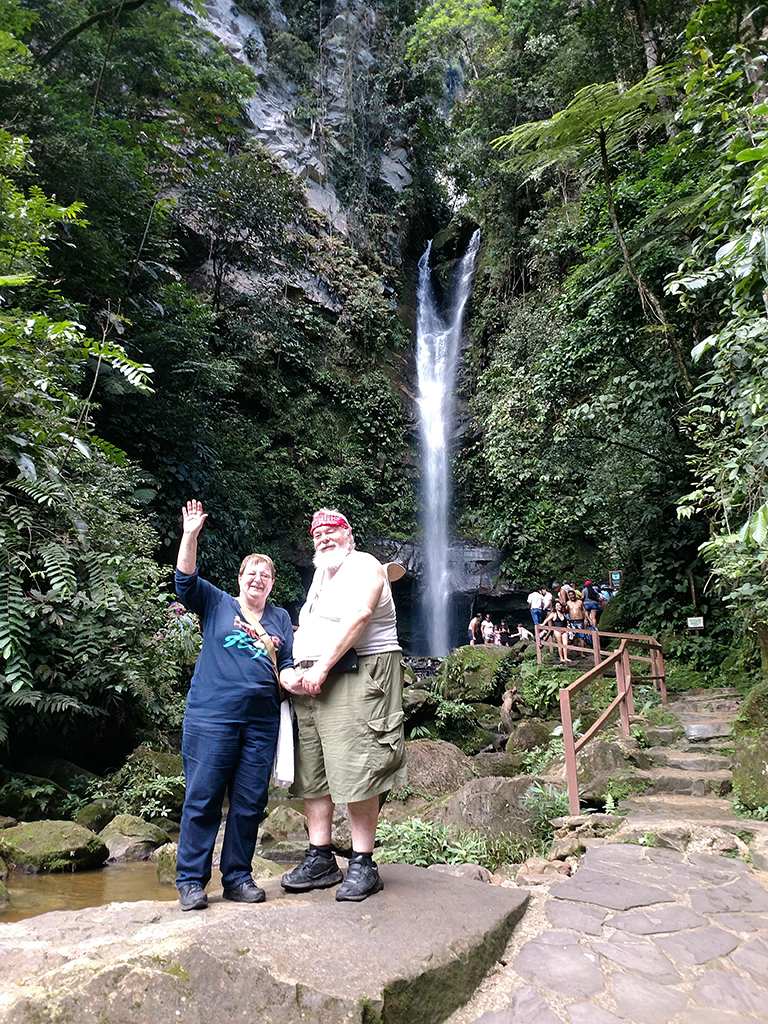 A Peruvian adventure with husband Tim.